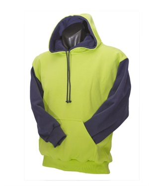 0399C  LINED HOOD WITH POUCH P