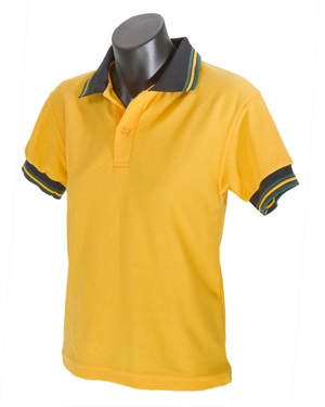 08162A  POLO WITH STRIPED ARM
