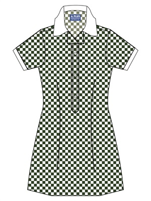 BRUN 20914C  GINGHAM CHECK SCH