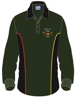 KYTN 11927C  LONG SLEEVE POLO