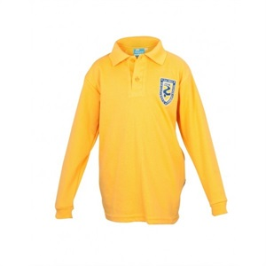HDGB 11908C  LONG SLEEVE POLO