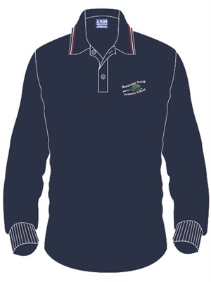 BSWN 1129C  LONG SLEEVE POLO N
