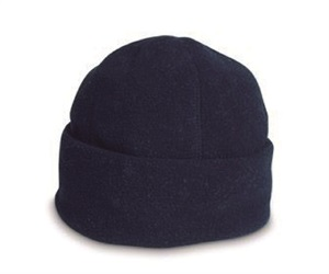 LALR CH28  ROLL UP BEANIE ACRY