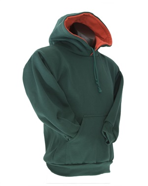 0315C  LINED HOOD WITH POUCH P