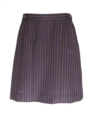 20786A  GIRLS PLEATED SKIRT WI