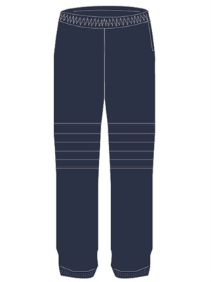 BSWN 0201C  TRACKPANT DOUBLE K