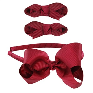 SHOP HDG002  BOW HEADBAND SET