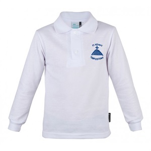 STKN 11903C  LONG SLEEVE POLO