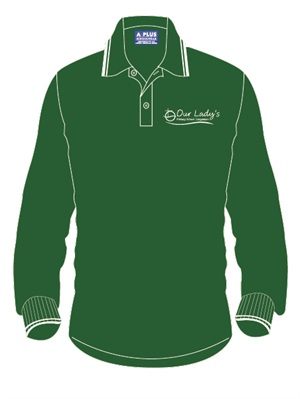 OLCB 11053C  LONG SLEEVE POLO