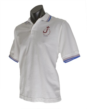 08193C  SPORTS POLO WITH STRIP