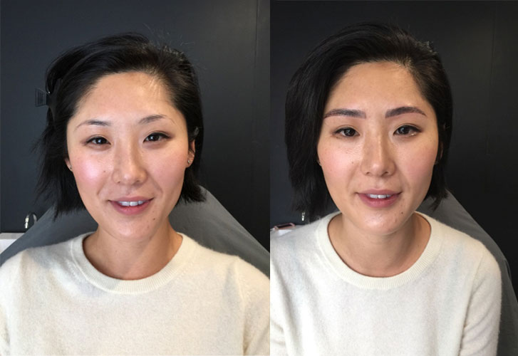 Road Test A Vogue Staffer Got Her Eyebrows Tattooed And This Is