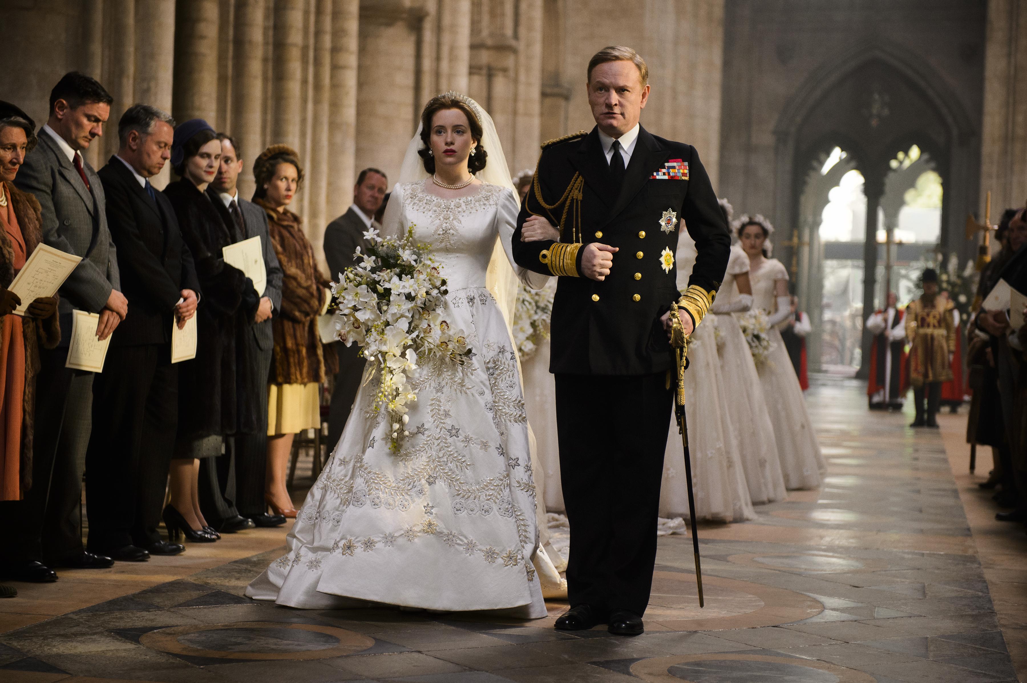 The Crown\' wedding dress cost $47,000 to make - Vogue Australia