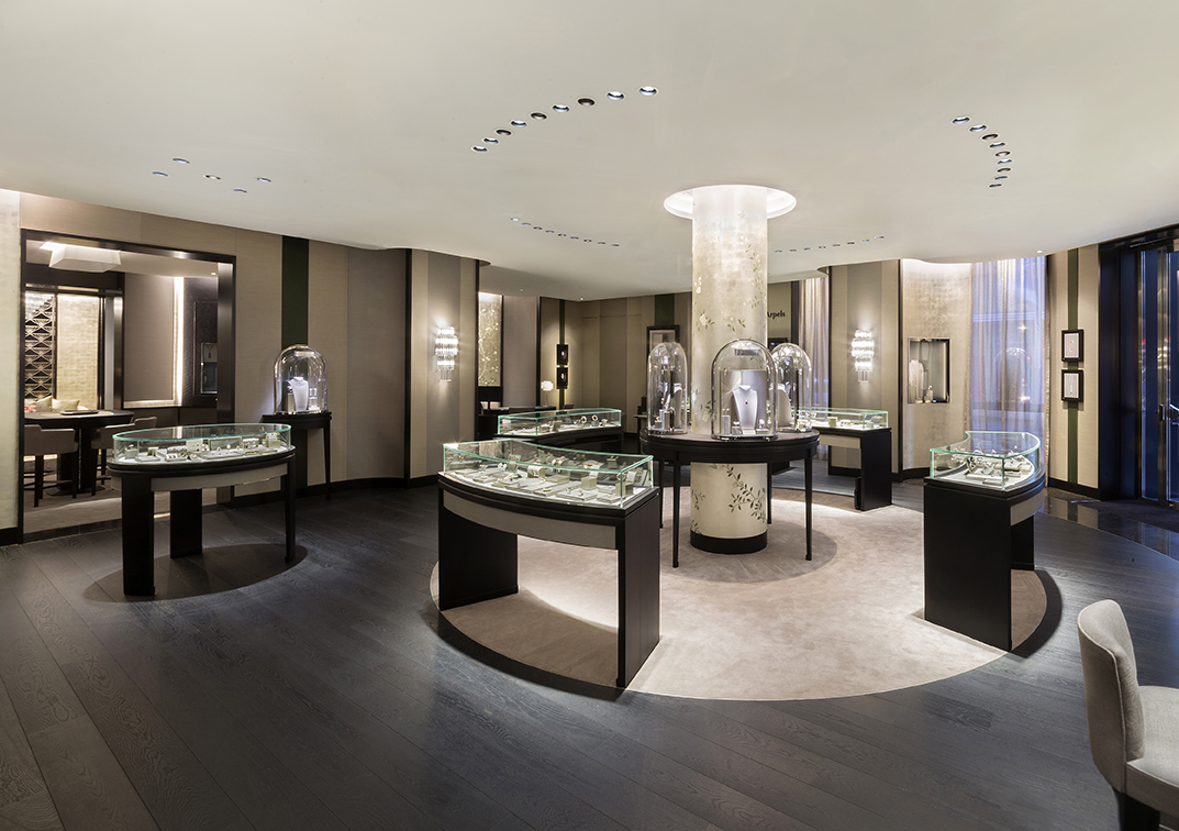 van cleef arpels opens largest australian boutique vogue australia. Black Bedroom Furniture Sets. Home Design Ideas