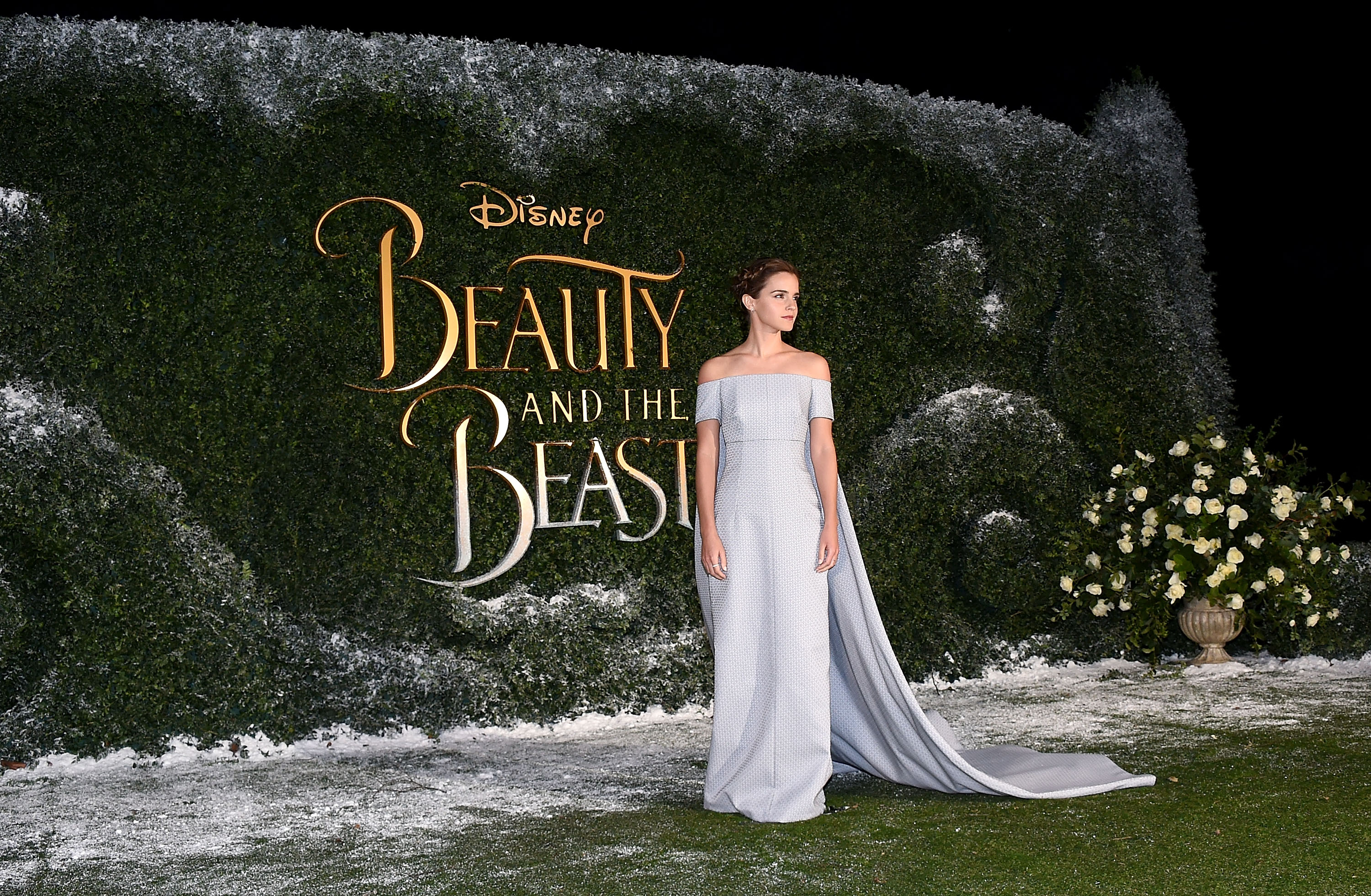 Fashion Beauty Events London: Emma Watson Was A Real-life Princess At The Beauty And The