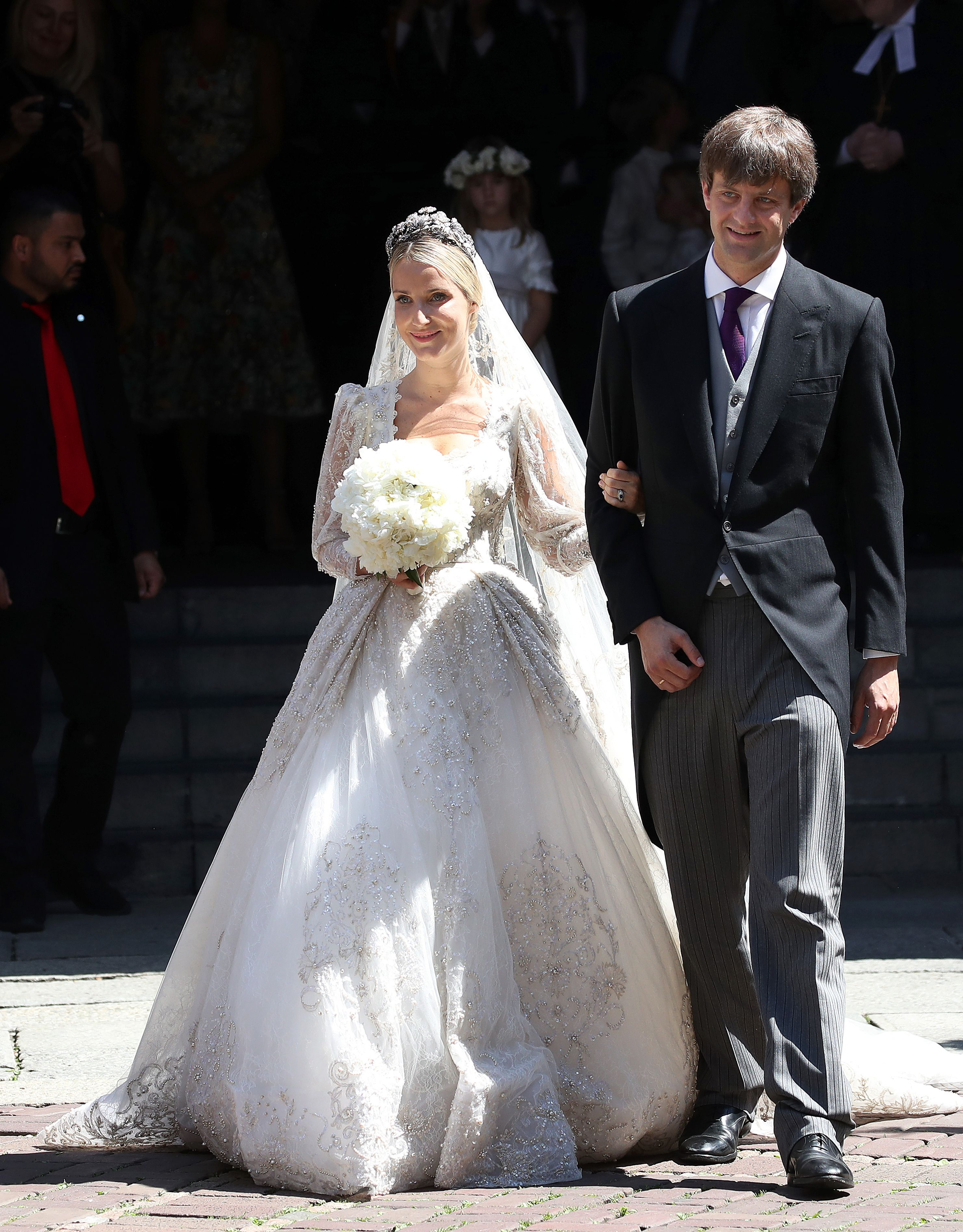 A European prince just married a Russian fashion designer: see the ...