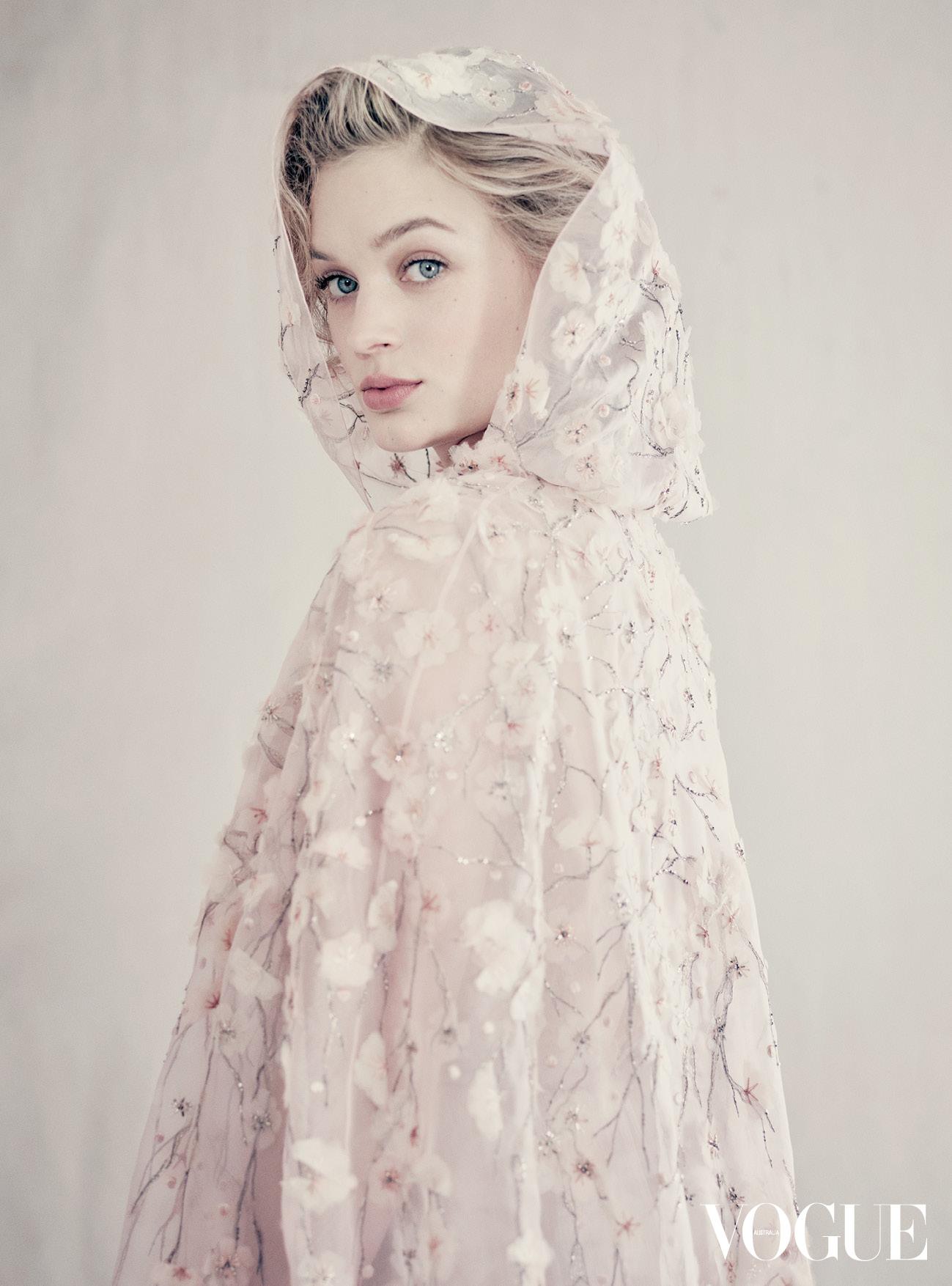 First Look Bella Heathcote Covers Vogue Australia S