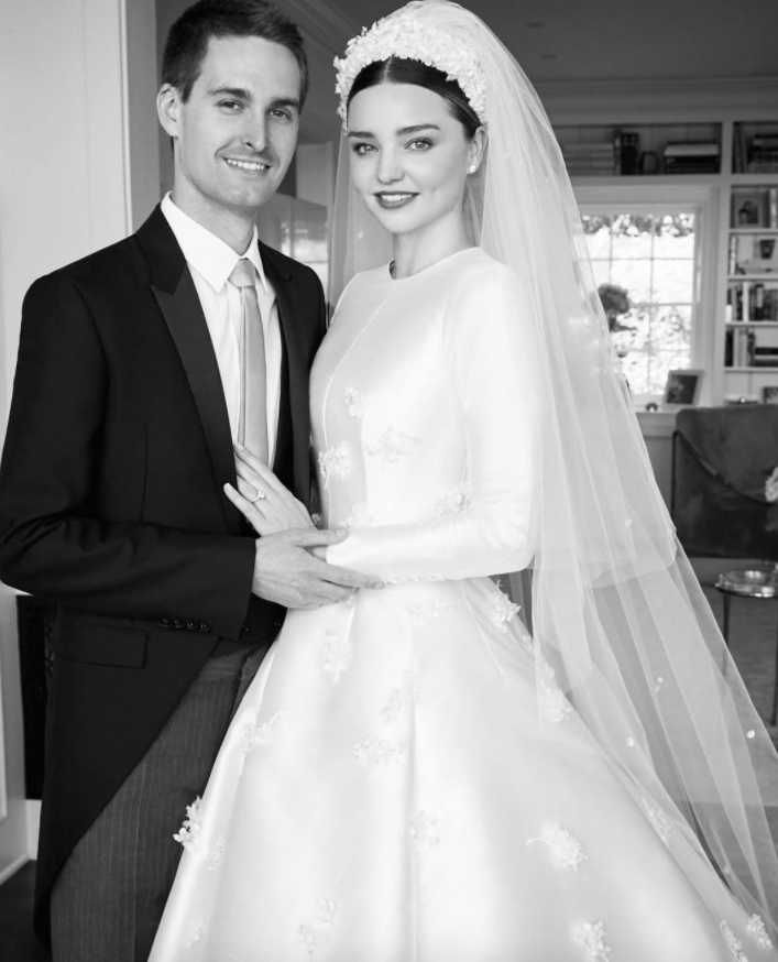 Grace Kelly Wedding Dress.See Miranda Kerr S Grace Kelly Inspired Wedding Dress Vogue Australia