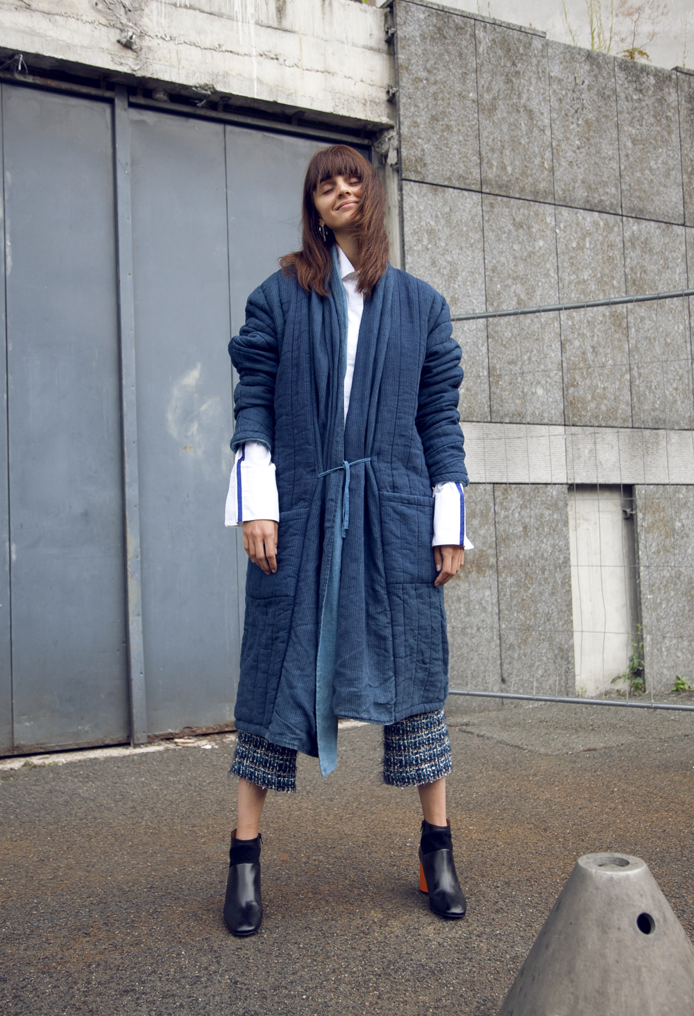 How to style a feminine take on oversized dressing - Vogue Australia ad37d51c741