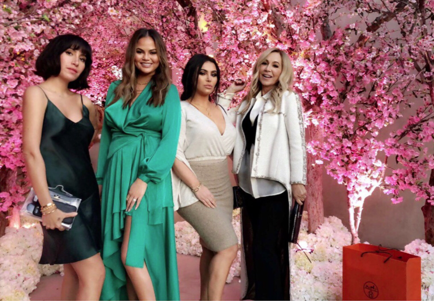 Inside Kim Kardashian West S Third Baby Shower Vogue Australia