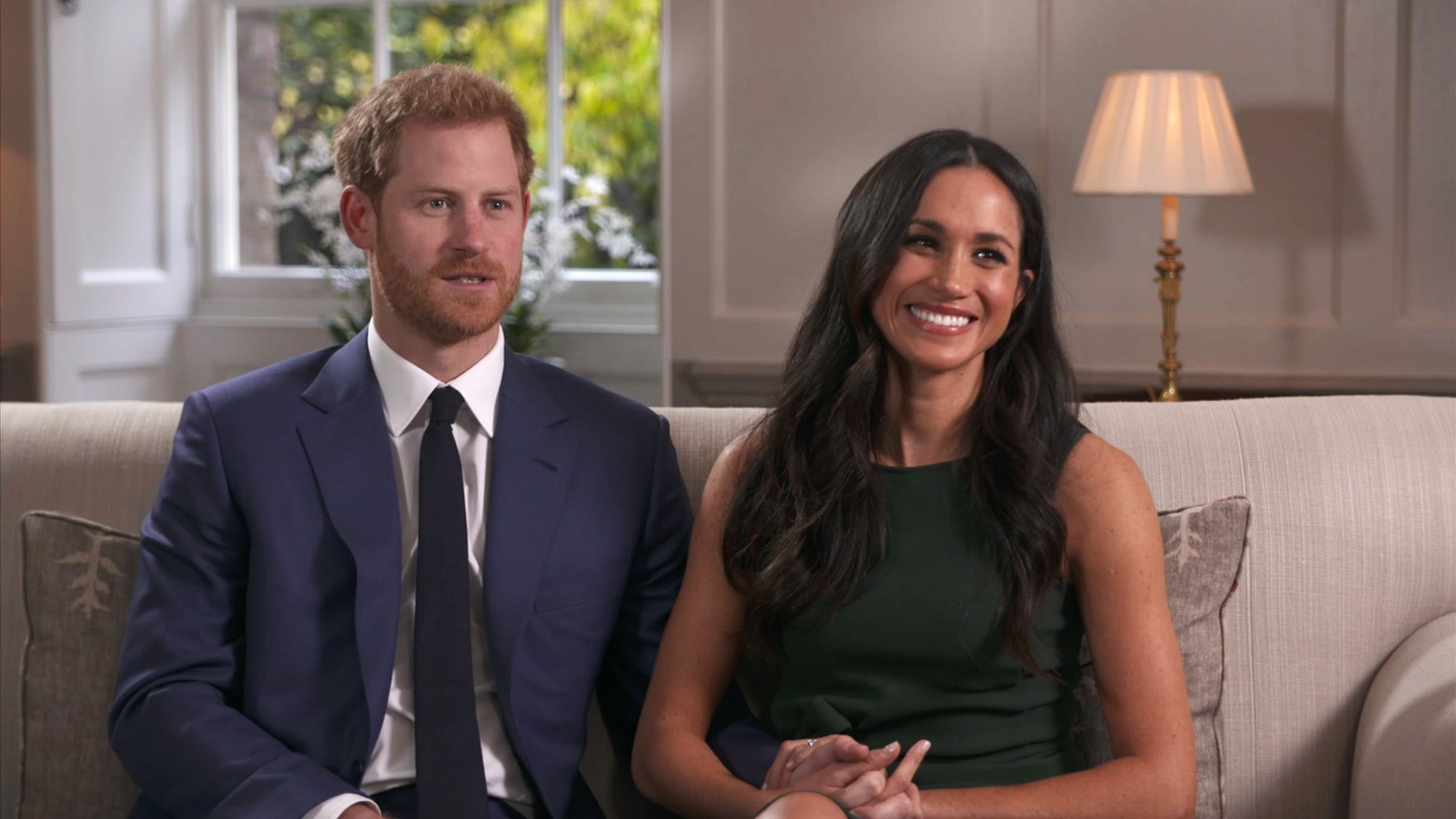 All The Details On Meghan Markles Engagement Outfit Vogue Australia