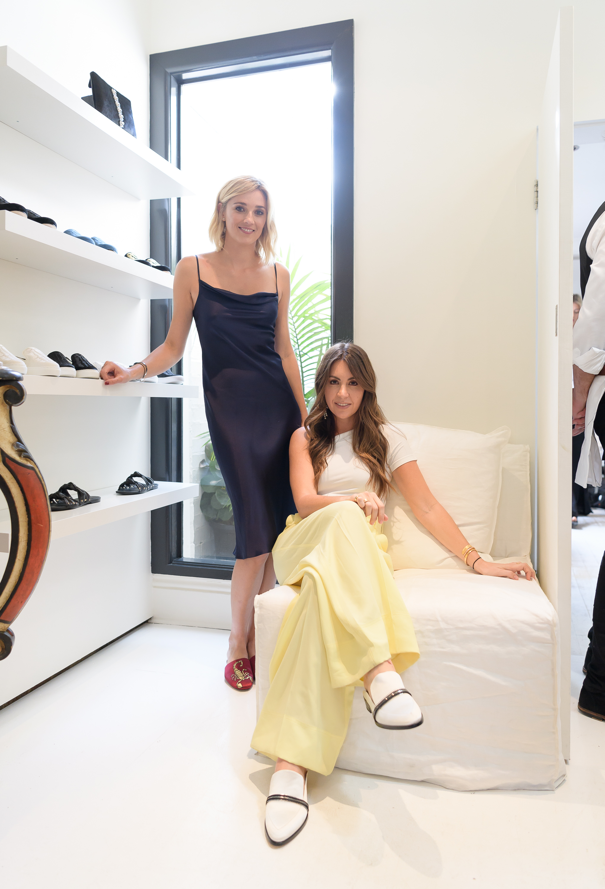 fcdfeeb3f8 Co-founders Jasmine Yarbrough and Tamie Ingham inside the opening of the  first Mara and Mine store. Image credit  Mara and Mine