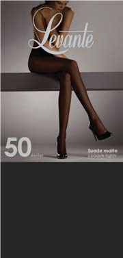 a26b39c5fed Levante Suede Matte 50 Denier Tights Nero Size Tall – National ...