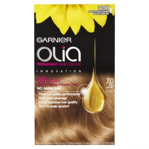 Garnier Olia 7 0 Dark Blonde Permanent Hair Colour