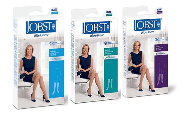 d2868b14cc Jobst Ultrasheer Knee High Compression Stockings – National Pharmacies