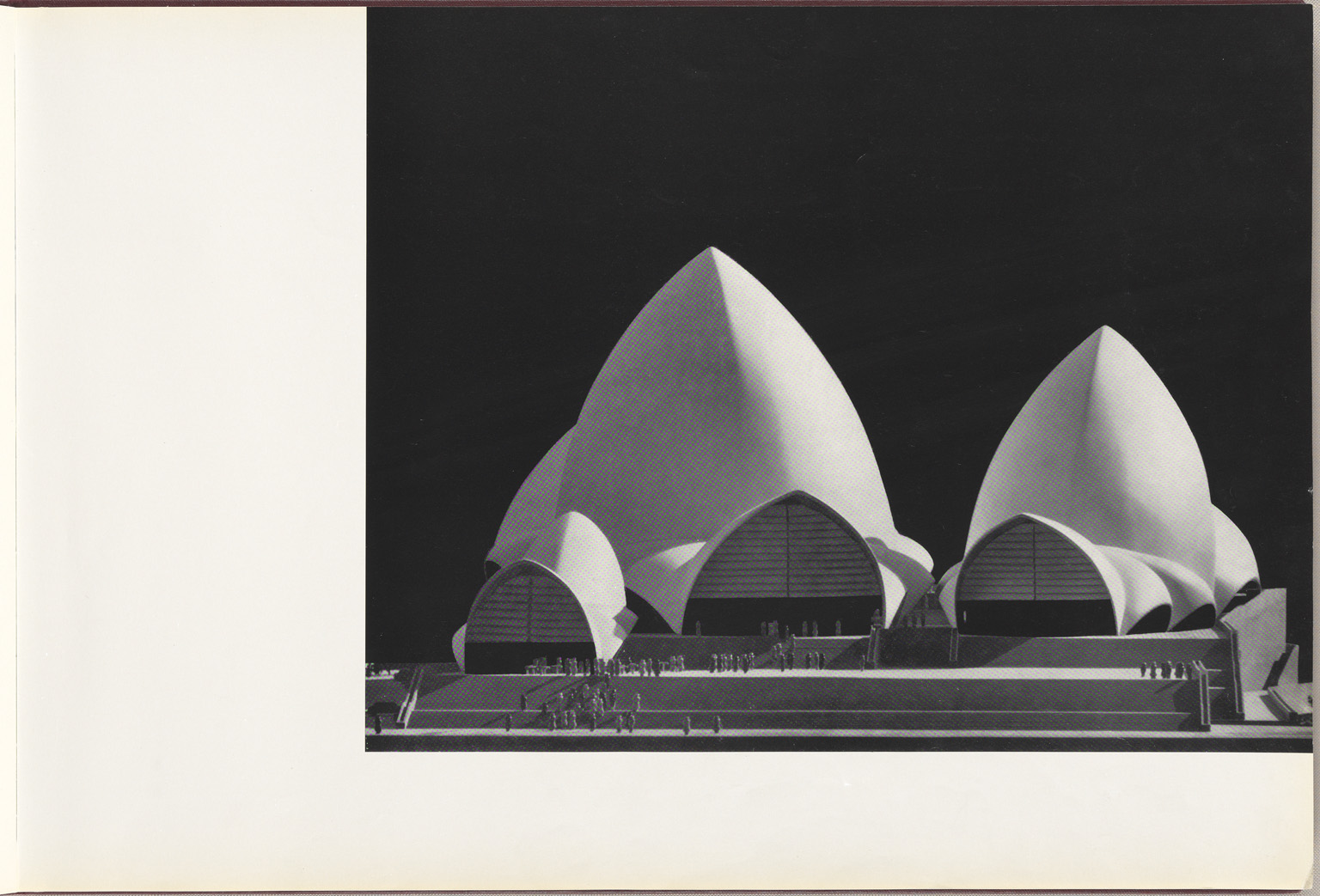 Models Sydney Opera House Red Book