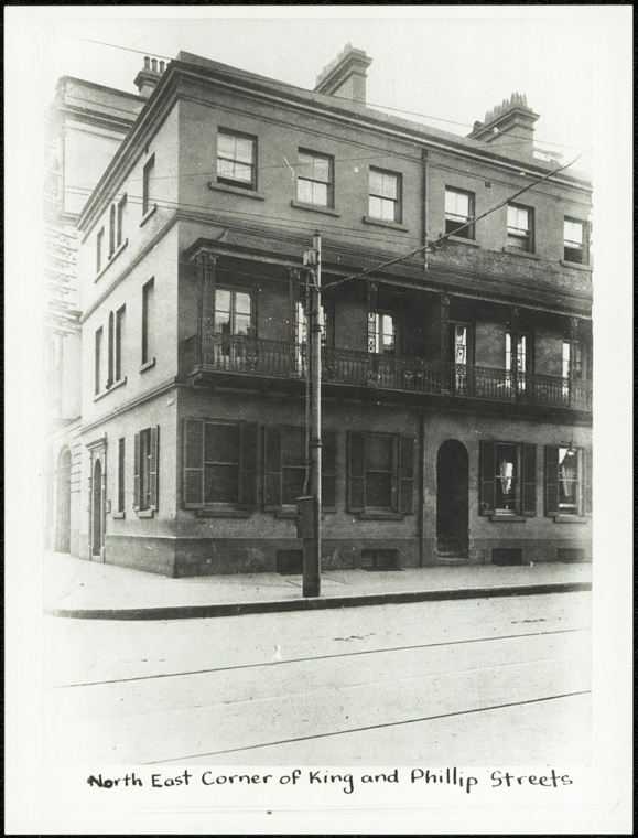 Board of National Education Building - north east corner of King and Phillip Streets Sydney