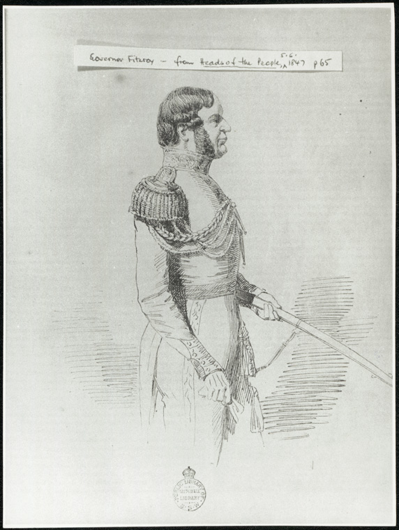 Fitzroy, Charles - Governor Fitzroy from Heads of the People 05/06/1847 p.65