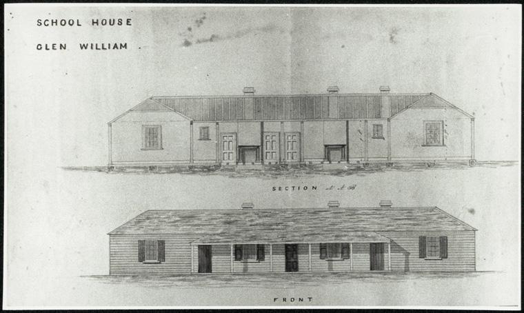 Glen William Public School - School house