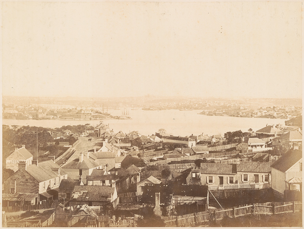 Panorama of Sydney from North Shore - No.3