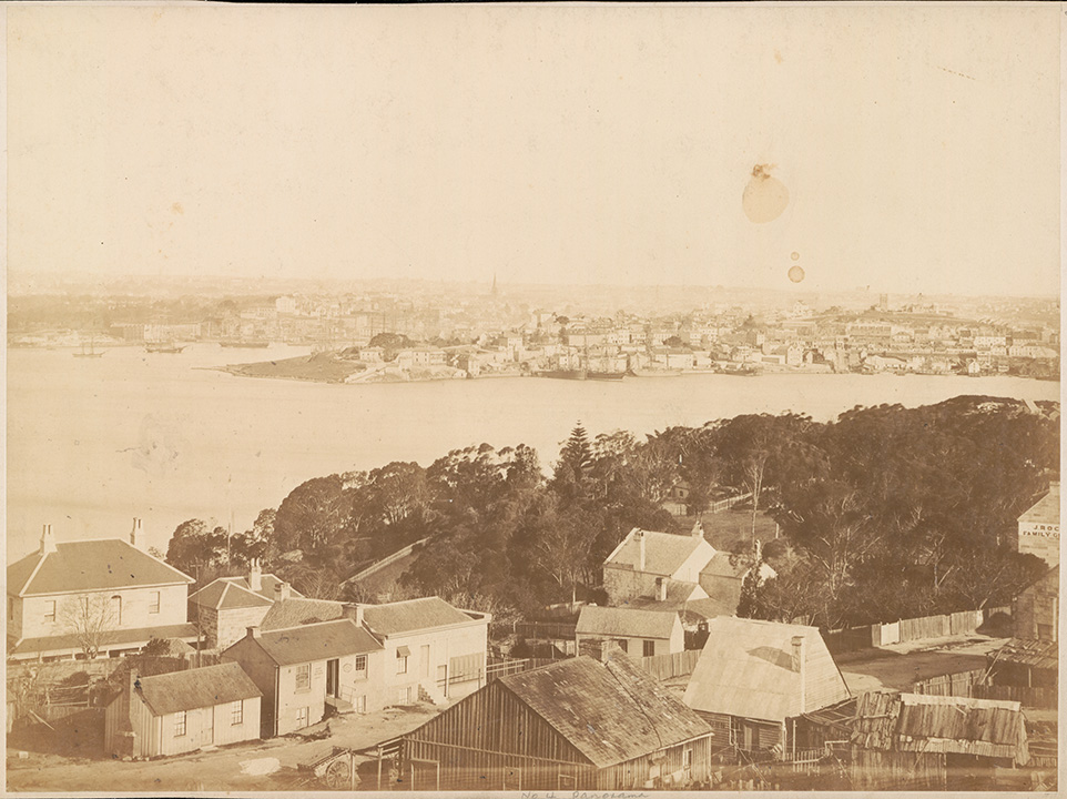 Panorama of Sydney from North Shore - No.4