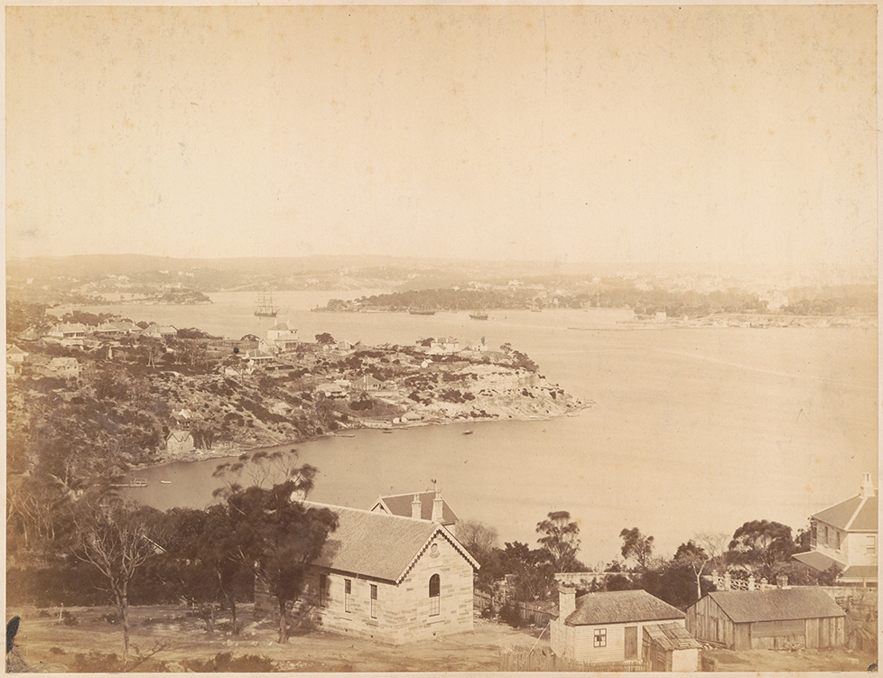 Panorama of Sydney from North Shore - No.5 (Lavender Bay - Milsons Point)
