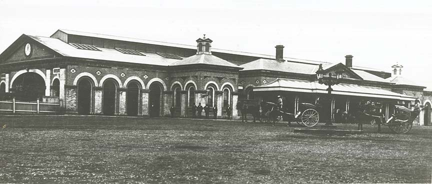 [Eastern side of the old Sydney Railway Station (NSW)]