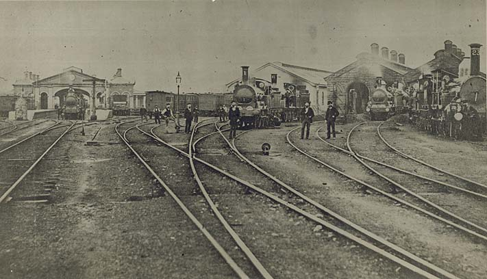 [View of the old Sydney Railway Station (NSW)]