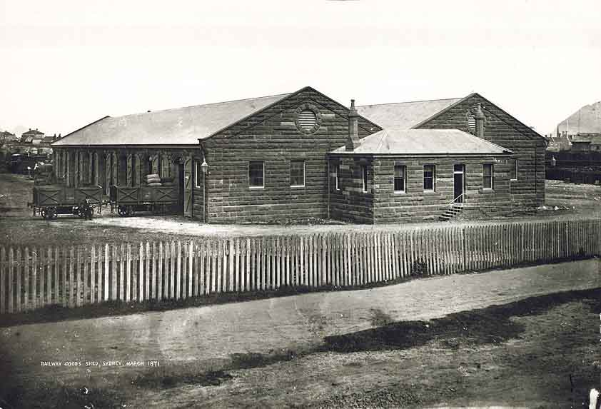 [The Goods Office at the old Sydney Railway Station (NSW)]