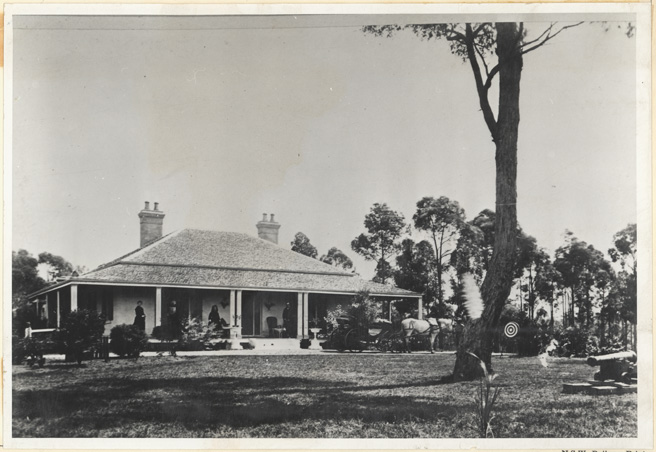 [Settler's house , Lithgow (NSW)]