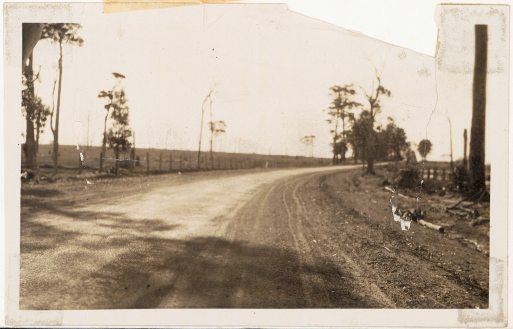 L1 - Princes Highway - Nowra -1926 - work done by Public Works Department.