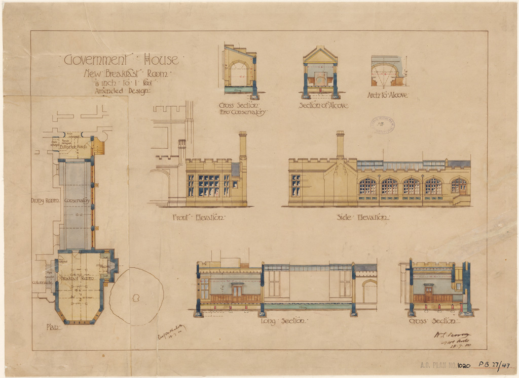 Plans of public buildings | NSW State Archives