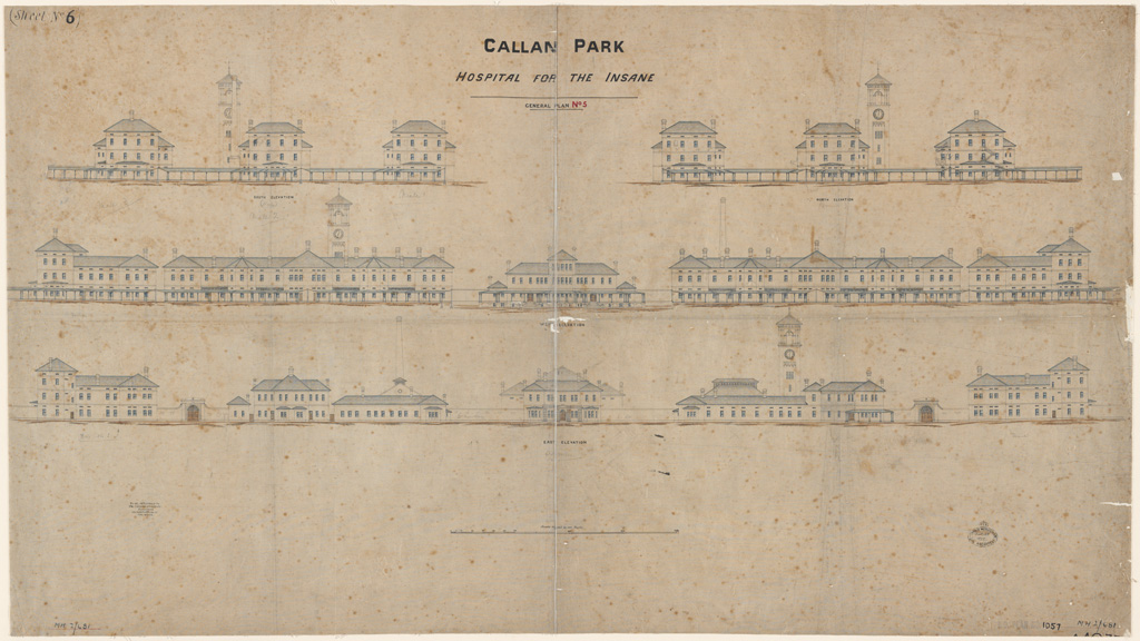 Callan Park hospital for th insane