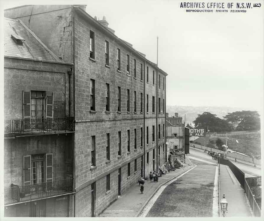 Edmund Barton U Edmund Barton: Miles Buildings, Gloucester Street, Where Edmund Barton