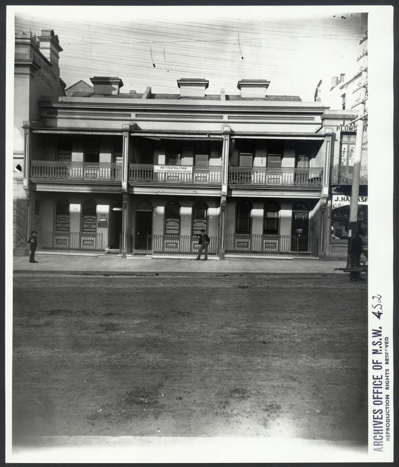 [58 to 64 Castlereagh Street, Sydney (NSW) including Metropolitan Transit Commissioners Office]