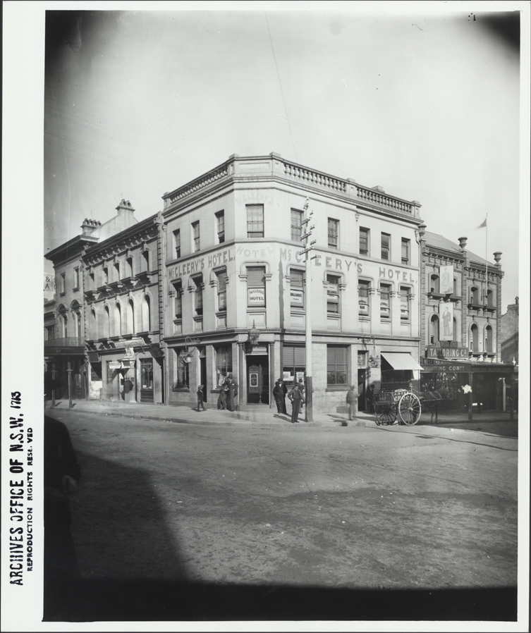[McCleery's Hotel and West End Tailoring Company, 153 and 151 King Street, Sydney (NSW)]