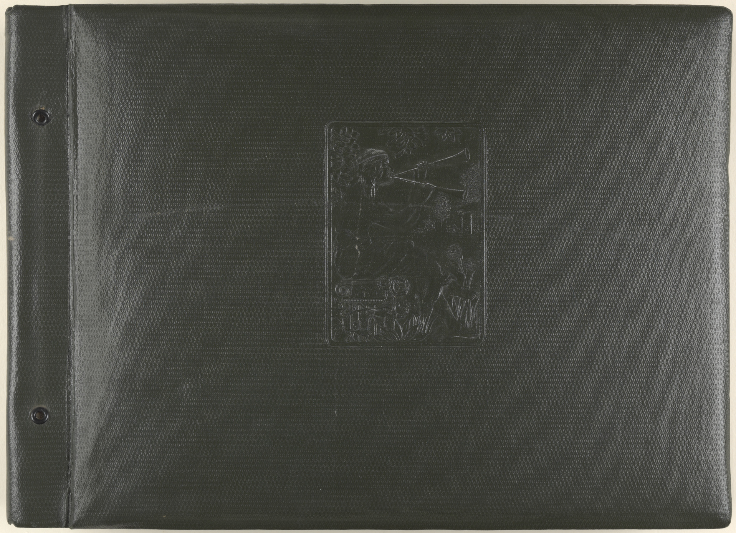 Photograph album of Mr L.G. Watt - cover album 1