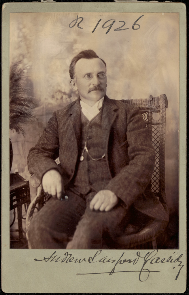 Photograph of Andrew Sarsfield Cassidy doctor