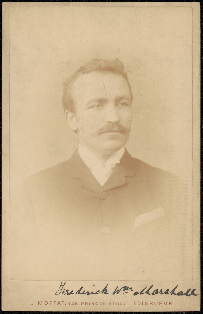 Photograph of Frederick William Marshall doctor