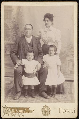 Photograph of Carlo Franceschi doctor