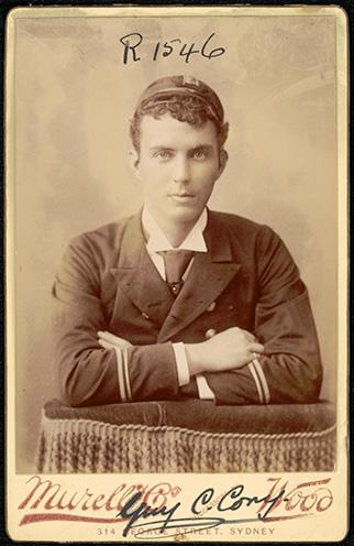 Photograph of Guy Chamberlain Cory doctor